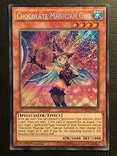 YUGIOH!! Chocolate Magician Girl MVP1-ENS52! Secret Rare! Near Mint! 1st!