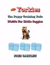 """300-17x24"""" Yorkies the Lightweight Puppy Training Pads Made for Little Doggies"""