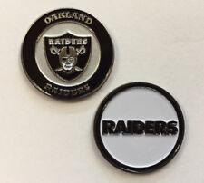 New Oakland Raiders NFL Golf Ball Marker + Free BONUS!!!