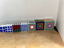 lot 7 of cubes From 2x2 To 8x8