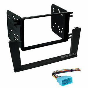 95-7863 Car Stereo Double Din Mount & Wires for Element  Radio Install Dash Kit