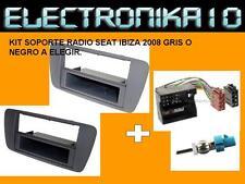 MARCO  Soporte  radio SEAT IBIZA 2008 + KIT CONEXION SEAT-ISO