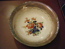 Vintage Early 1900's D. E. McNichol East Liverpool, OH Porcelain Serving Bowl