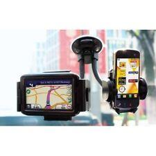 Coche Doble de telefonía móvil, iPhone, Blackberry, Sat Nav & Ipod soporte de parabrisas swgh2