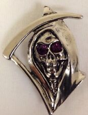 Hells/Hell's Angels R'Side Pins: Grimm Reaper pin With Purple Eyes #SP01