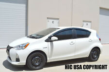 HIC USA Version 2 2012 to 2015 Prius C side window visor vent shades deflectors