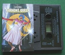 Catatonia Karaoke Queen / Don't Wanna Talk About It Cassette Tape Single TESTED