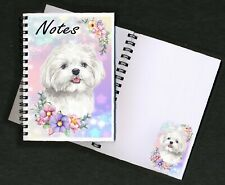 Maltese Dog Notebook/Notepad + small image on every page by Starprint
