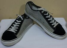 VANS SNEAKERS Sz 12 GRAY / BLACK