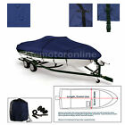 Deluxe Bayliner 170 O/B Trailerable Bass Fishing Jet Boat Cover Navy