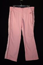 Nike Pink Work Out Pants Sweats Size is 12-14