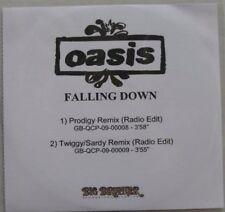 OASIS - FALLING DOWN - CD PROMO UK - MONSTER RARE !!