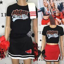"Cheerleading Uniform Navarro Set Both Skirts 28"" Waist"
