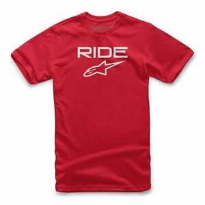 NEW Alpinestars Ride 2.0 Kids Casual T-Shirt - Red/White from Moto Heaven
