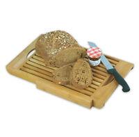 Bambusschneidebrett Bambus Schneidebrett Brotschneidebrett Brotmesser Messer