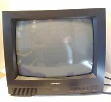 "Daewoo 14"" Model Dtq-14J2Fc Crt Color Television Retro Gaming Monitor"