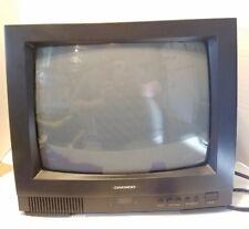"DAEWOO 14"" MODEL DTQ-14J2FC CRT COLOR TELEVISION Retro Gaming Monitor"