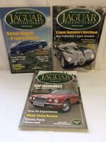 **FAB 3 Jaguar Enthusiast Magazines Vol 22 Issue 6, 7 & 9 Great Cond UK - Great!