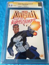 Punisher Kills the Marvel Universe 3rd print - CGC SS 9.8 - Signed by Ennis