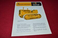 Allis Chalmers HD-11 Crawler Tractor Dealers Brochure YABE14 ver10