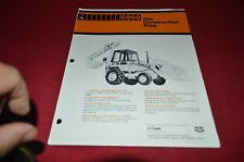 Case 780 Backhoe Loader Tractor Dealer's Brochure DCPA6