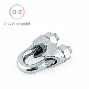 Klemmen verzinkt Drahtseilklemmen Klemme Seil DIN741