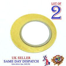 2x hágalo usted mismo 20mm Sensor de disco de cobre Piezo elementos de Tambor Sounder gatillo Zumbador