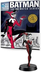DC Comics Official Super Hero Collection Harley Quinn Figurine Figure w Book New