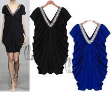 Polyester Hand-wash Only Casual Solid Dresses for Women