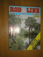 Vintage - July 1980 - Rod & Line: Salmon, Trout and Sea Angling Magazine