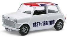 Corgi Best of British Classic Mini 1:36 Modellino Modello Union Jack Tettuccio
