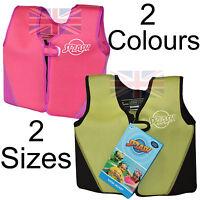 Child  Swim Floatie Vest Swimming Pool New Age 2-3 & Age 3-6 Life Jacket
