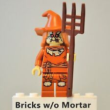 New Genuine LEGO Scarecrow Minifig with Pitchfork DC Super Heroes 76054