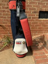 Vintage Professional Pepsi Ron Miller Collectible Golf Bag PGA