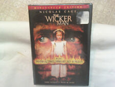 The Wicker Man (DVD, 2006, Unrated/Rated Editions, Widescreen) - FACTORY SEALED!