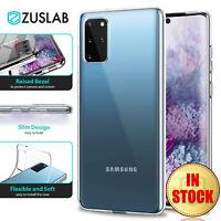 For Samsung Galaxy S20 Plus Ultra Case ZUSLAB Soft Slim Crystal Clear Cover