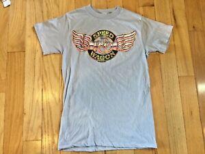 Vintage 1987 Reo Speedwagon Graphic T-Shirt Single Stitch
