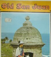 Old San Juan Puerto Rico El San Juan Brochure Vintage English Spanish