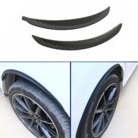 2pcs Fender Arch Wheel Eyebrow Protector Sticker Guard Kit for Car SUV Decor