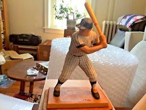 1987 New York Yankees Baseball Mickey Mantle Sports Impressions Figurine w/Box