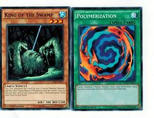 King of The Swamp  + Polymerization Fusion  1st  MINT *English* YUGIOH