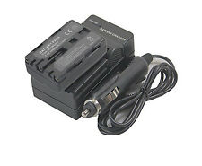 new NP-FM500H Battery + Charger for DSLR-A900 A300 A450 A700 A900 A77 Alpha 560