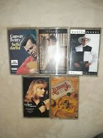 Lot Of 5 Country Music Cassette Tapes Garth Brooks Rimes Alabama Conway