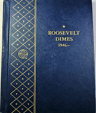 1946- 1965  Roosevelt Dimes Complete Silver Uncirculated Coins Whitman 9115 (A)