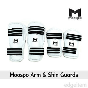 Moospo Arm & Shin Guards Taekwondo Arm and Leg protector Karate