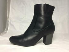 Cute Used CLARKS  Bendables Side Zip High Heel Ankle Boots  Women's size 11 M