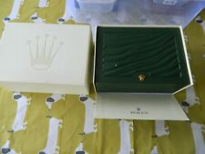 ROLEX WRISTWATCH BOX INTERIOR BOX AND EXTERIOR BOX WITH 2 TAGS