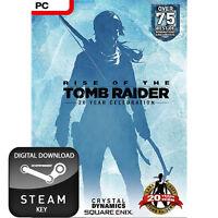 RISE OF THE TOMB RAIDER 20 YEAR CELEBRATION PC STEAM KEY
