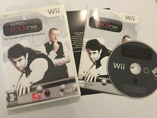 ORIGINAL NINTENDO Wii GAME WSC Real 08 World Snooker Championship COMPLETE PAL