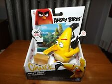 """ANGRY BIRDS, FAST TALKING CHUCK, 5"""" FIGURE, NEW IN BOX, 2016"""